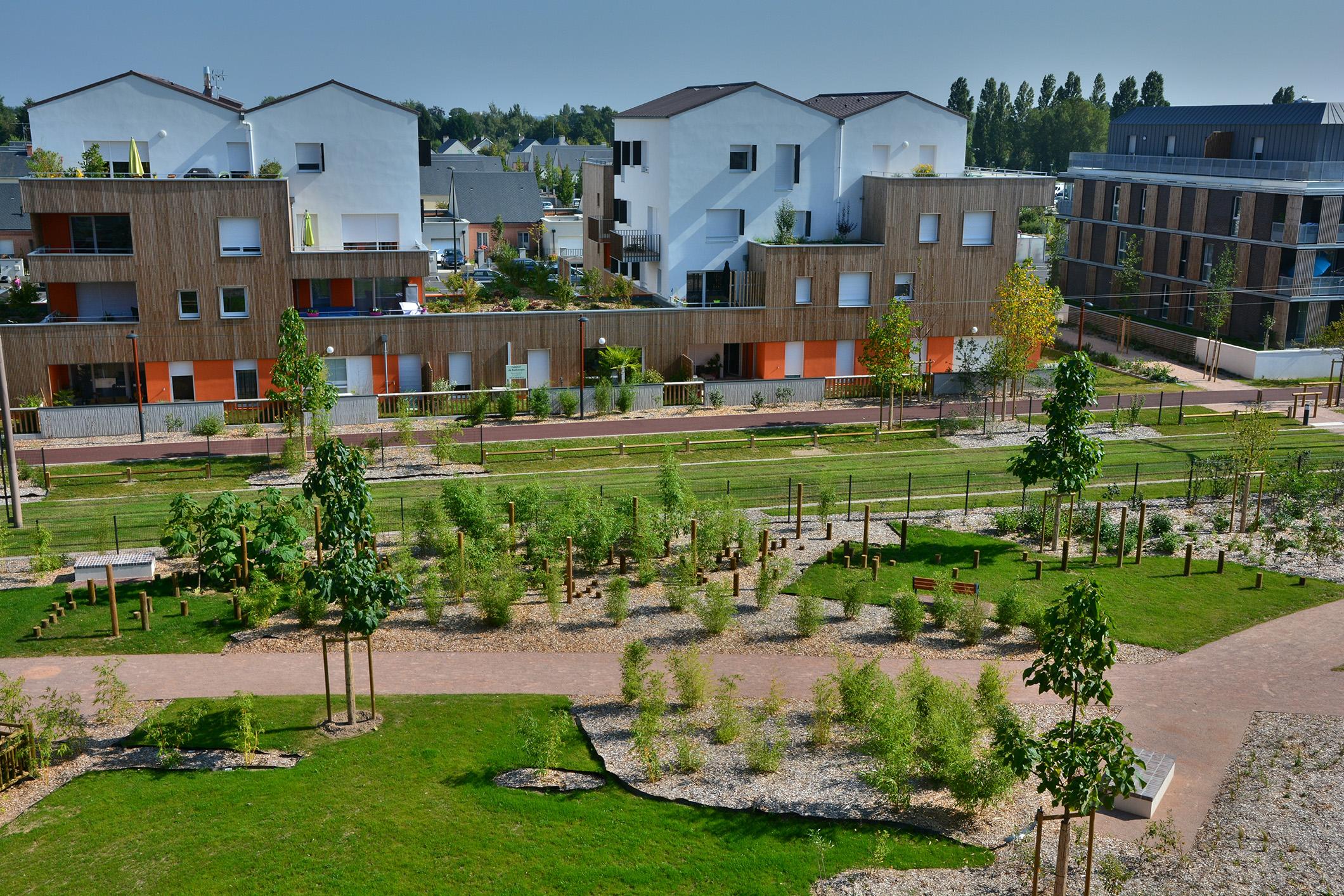 Aménagement urbain Orléans Loiret